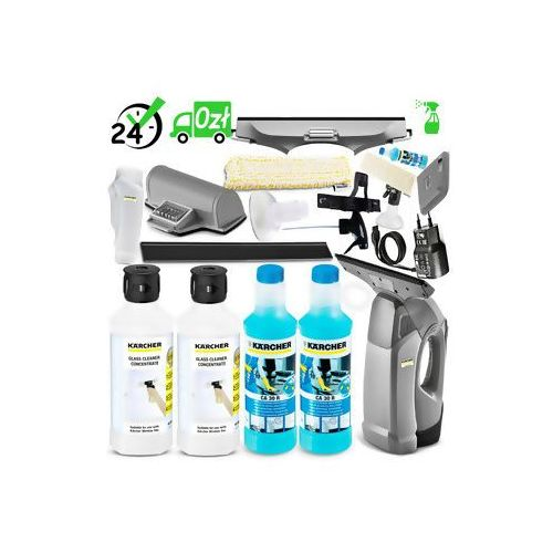 Wvp 10 (105m2, 35min) profesjonalna myjka do okien 10w1 detergent+ ✔sklep specjalistyczny ✔karta 0zł ✔pobranie 0zł ✔zwrot 30dni ✔raty 0% ✔gwarancja d2d ✔leasing ✔wejdź i kup najtaniej marki Karcher