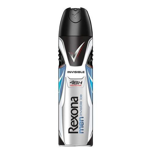 Dezodorant Rexona Men Invisible Ice Antyperspirant w aerozolu 150 ml (8717644644362)