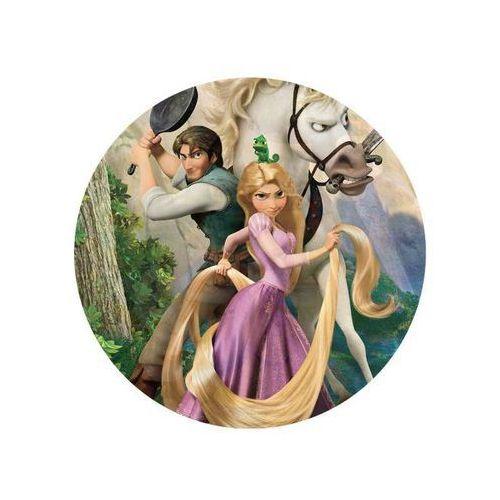 Dekoracyjny opłatek tortowy princess - księżniczki - 20 cm - 9 marki Modew