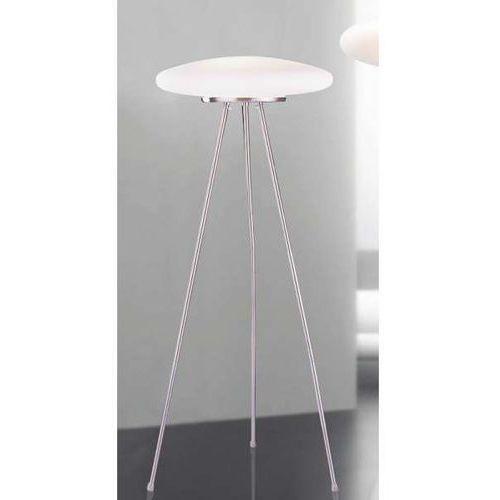Sztalugowa lampa podłogowa ufo x ml5106-3a  stojąca oprawa na trójnogu biała marki Italux