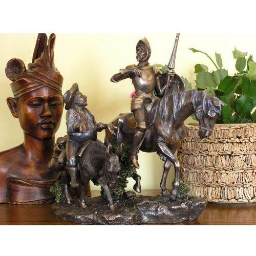 Veronese Oryginalna rzeźba don kichot i sancho pansa (wu75196a4)