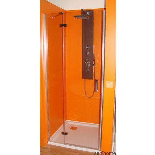 Polysan Drzwi prysznicowe z 1 ścianką 90cm lewe bn2815l