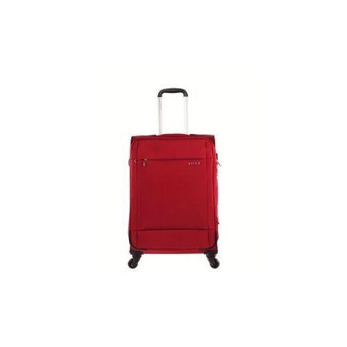 PUCCINI walizka średnia z kolekcji NEW ROMA materiał poliester zamek szyfrowy z systemem TSA
