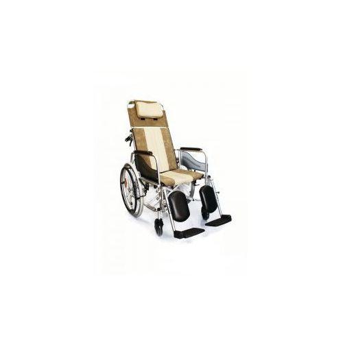 Wózek inwalidzki aluminiowy stabilizujący plecy i głowę roz. 46 cm