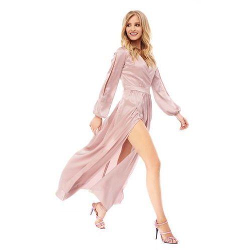 Sukienka Penelopa w kolorze cielistym