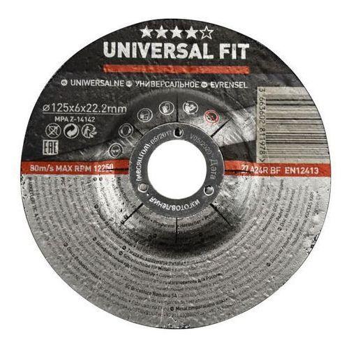 Tarcza do szlifowania metalu 125 x 6 mm marki Universal
