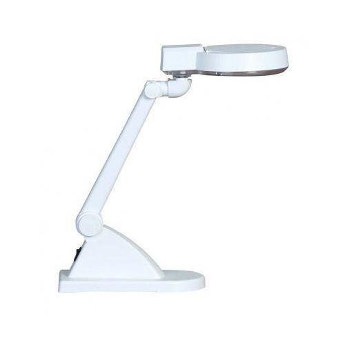 B2b partner Lampa stołowa z lupą powiększającą, biała