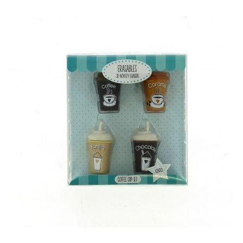 Gumki do mazania – zestaw kaw w kubku