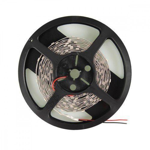 Whitenergy taśma LED 5m 30szt/m 5050 7.2W/m 12V ciepła biała (06731) Darmowy odbiór w 21 miastach! (5908214330270)