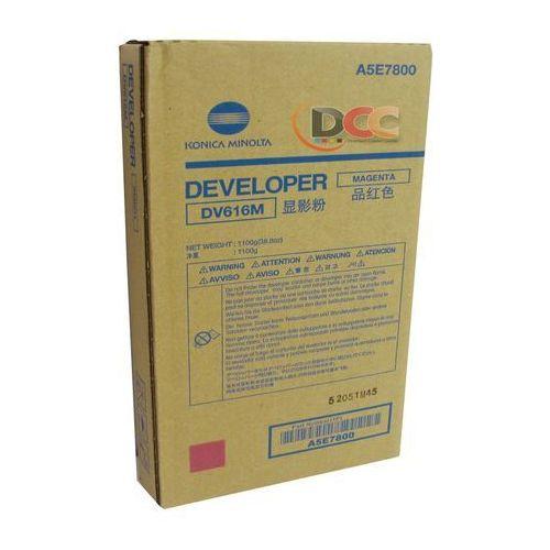 Konica minolta  developer / wywoływacz magenta dv-616m, dv616m, a5e7800