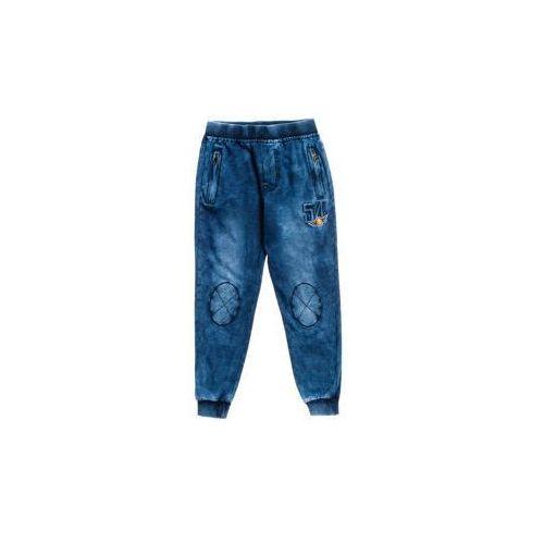 Spodnie sportowe chłopięce granatowe Denley HB1910