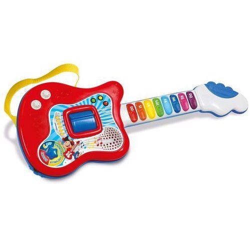 Clementoni interaktywna gitara uczę się grać polska wersja językowa