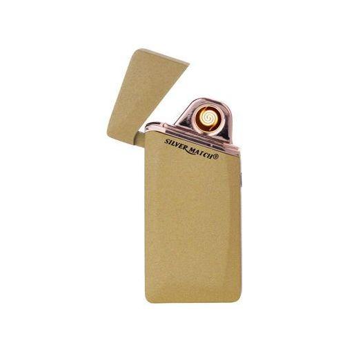 Zapalniczka Silvermach z USB 40674265 złota Hinz