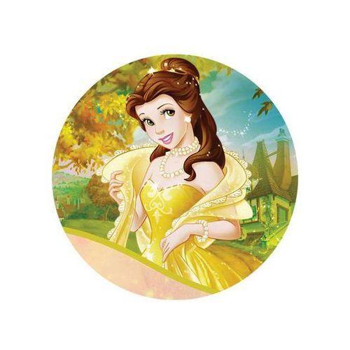 Dekoracyjny opłatek tortowy princess - księżniczki - 20 cm - 14 marki Modew