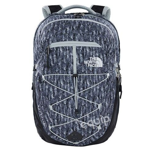Plecak  w borealis - high rise grey feather leaf print/tnf black marki The north face