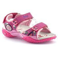 Sandały dla dzieci American Club 1232 - Fuksja