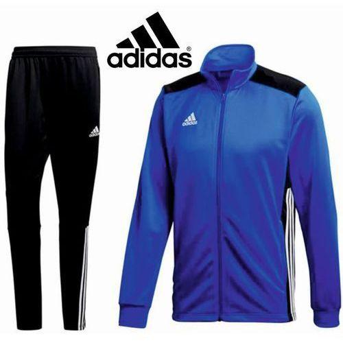 Adidas Dres treningowy regista 18 długi zamek czarno-niebieski