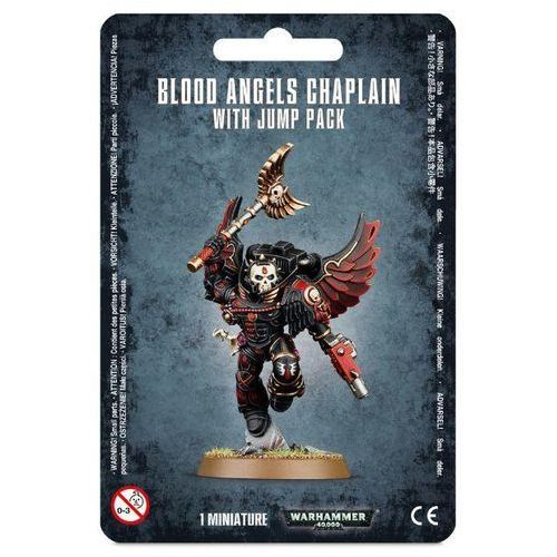 Blood Angels Chaplain With Jump Pack (41-17) GamesWorkshop 99070101017 (5011921066759)