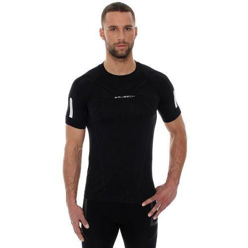 athletic ss11090 - męska koszulka termoaktywna (czarny) marki Brubeck