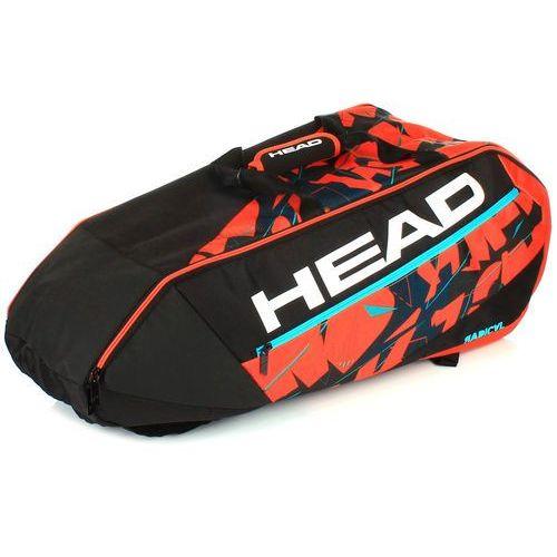 radical 9r supercombi black/orange marki Head