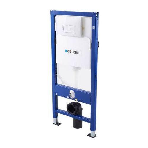 Stelaż podtynkowy WC Geberit Unifix Delta 50 cm przycisk biały, 458.117.11.1