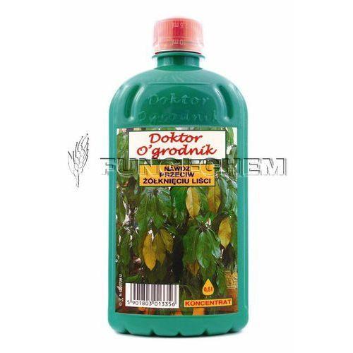 Dr. Ogrodnik Nawóz przeciw żółknięciu liśći 0.5 L, 5901803013356