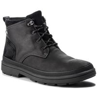 Kozaki - rushwaymid gtx gore-tex 261378587 blk tumbled leather, Clarks, 40-46