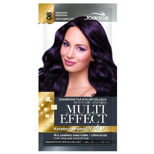 Joanna  multi effect color keratin complex szamponetka 08 soczysta oberżyna 35g (5901018015183)
