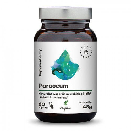 AURA HERBALS Paraceum - naturalne wsparcie jelit i trawienia 60 veg. kaps. (5902479612010)
