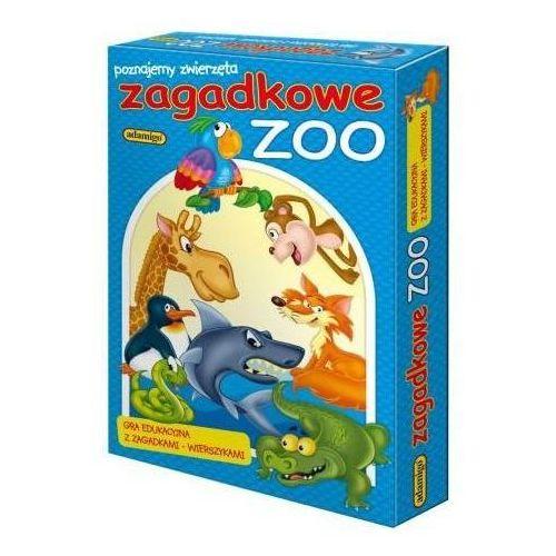 gra ukł. zagadkowe zoo marki Adamigo