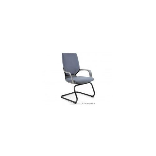 Krzesło biurowe apollo skid czarny/szary marki Unique meble