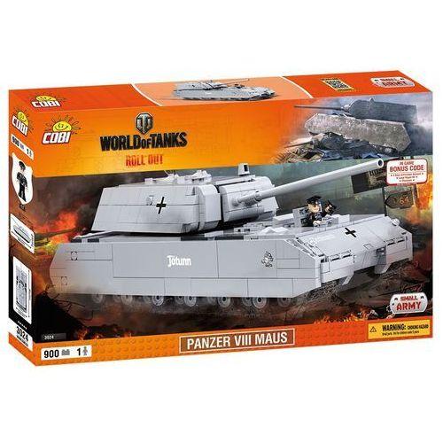 Army WoT Panzer VII Maus - niemiecki czołg superciężki - Cobi Klocki