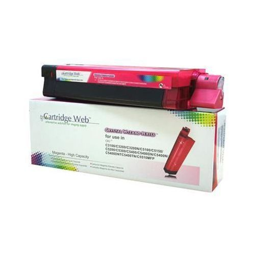 Cartridge web Toner magenta oki c3100/c5100/c5450 zamiennik 42804514/42127406/42127455