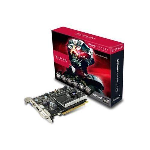 Sapphire technology Radeon R7 240 BOOST 1GB DDR5 128 bit - produkt w magazynie - szybka wysyłka!, kup u jednego z partnerów