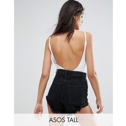 cami body with scoop back - white, Asos tall