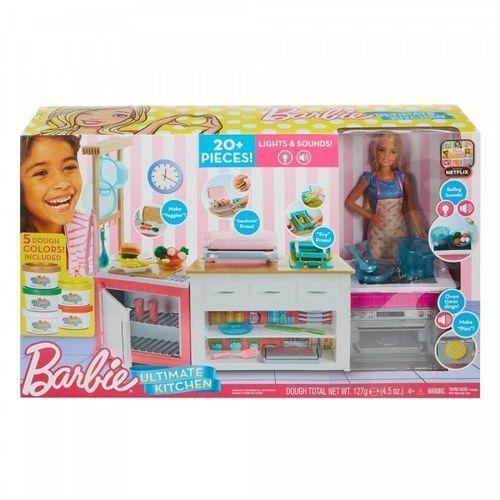Mattel Barbie idealna kuchnia zestaw