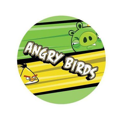 Modew Dekoracyjny opłatek tortowy angry birds - 20 cm - 2