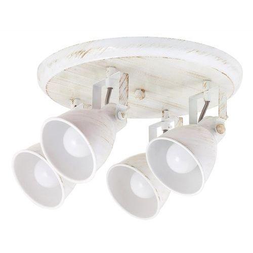 Rabalux Plafon lampa sufitowa spot vivienne 4x40w e14 antyczna biel 5969