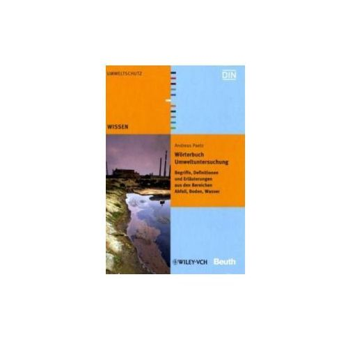 Wörterbuch Umweltuntersuchung (kategoria: Literatura obcojęzyczna)