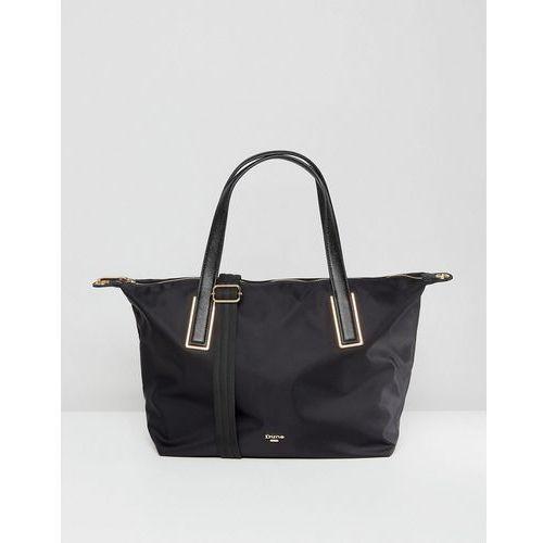 Dune Dindy Nylon Tote Shoulder Bag in Black - Black