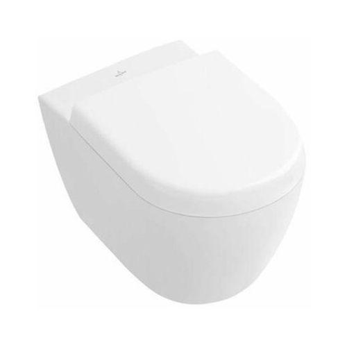Villeroy & boch 56061001 msika wiszaca wc subway 2.0 kompakt 48 cm + mata / przekładka akutyczna gratis !!!! wysyłka 25 pln
