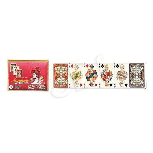 Karty do gry Piatnik 2 talie pasjans madame
