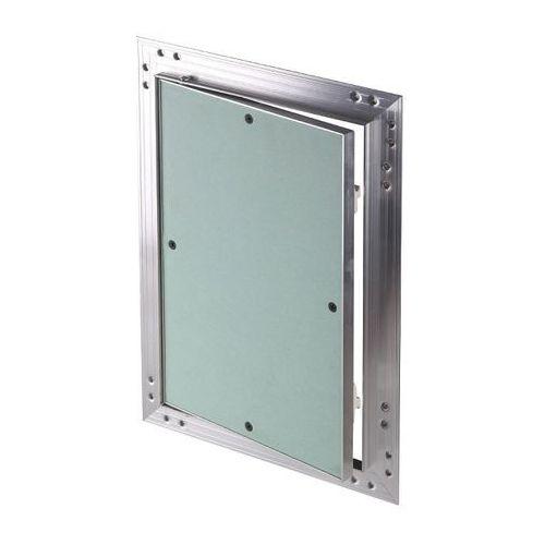 Klapa rewizyjna aluminiowa Awenta z płytą g-k 25 x 40 x 1,25 cm