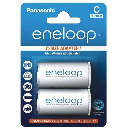 Panasonic Adapter Eneloop AA do R14 (BQ-BS2E/2E) - produkt w magazynie - szybka wysyłka!, 154026