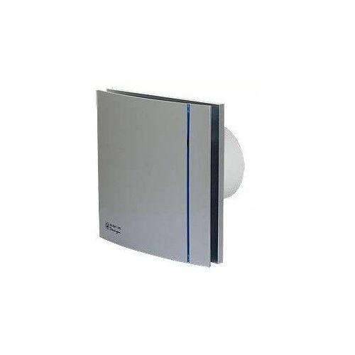 Wentylator łazienkowy cichy Silent Silver Design 200 CRZ - Timer