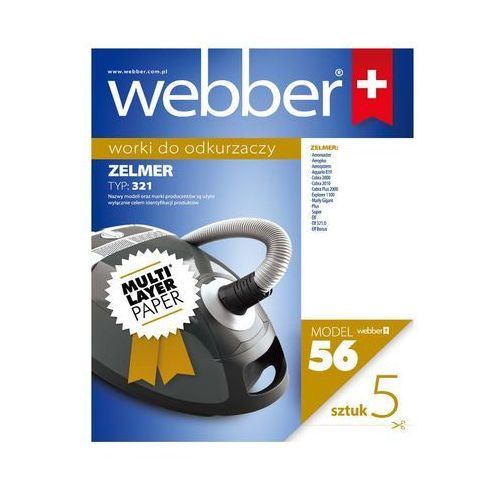 Worek do odkurzacza WEBBER 56 (5 sztuk)
