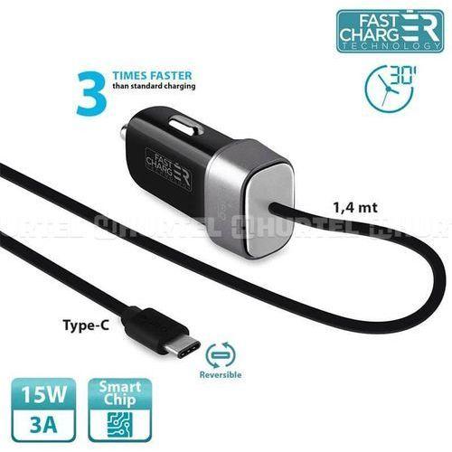 Ładowarka fast charger mini car charger (fcmchtypeccblk) darmowy odbiór w 20 miastach! marki Puro