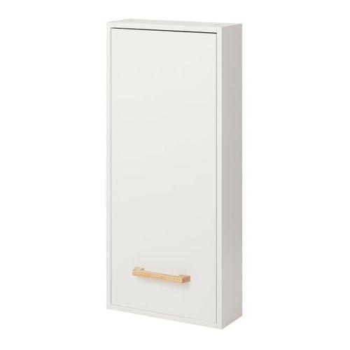 Goodhome Szafka łazienkowa ladoga 90 x 40 x 15 cm biała