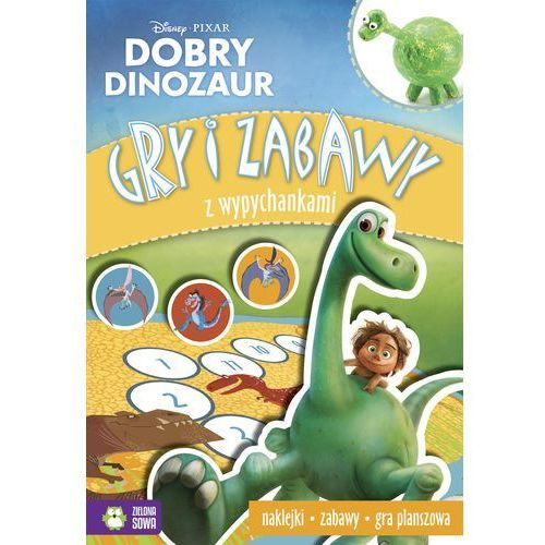 Dobry Dinozaur Gry i zabawy z wypychankami Disney-Wysyłkaod3,99, praca zbiorowa