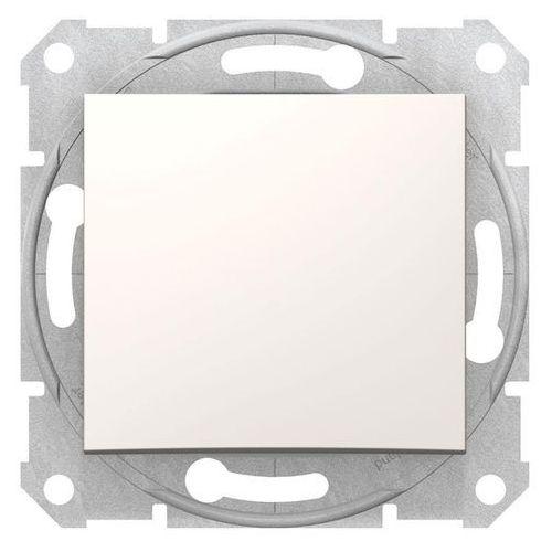 Sedna przycisk Schneider podtynkowy pojedynczy bez ramki kremowy SDN0700123 (8690495032857)